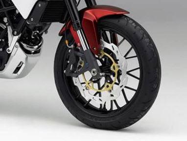 Honda SFA 150 Concept front tyre disk break Image