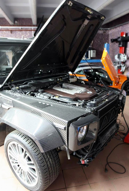 mercedes g55 engine repair