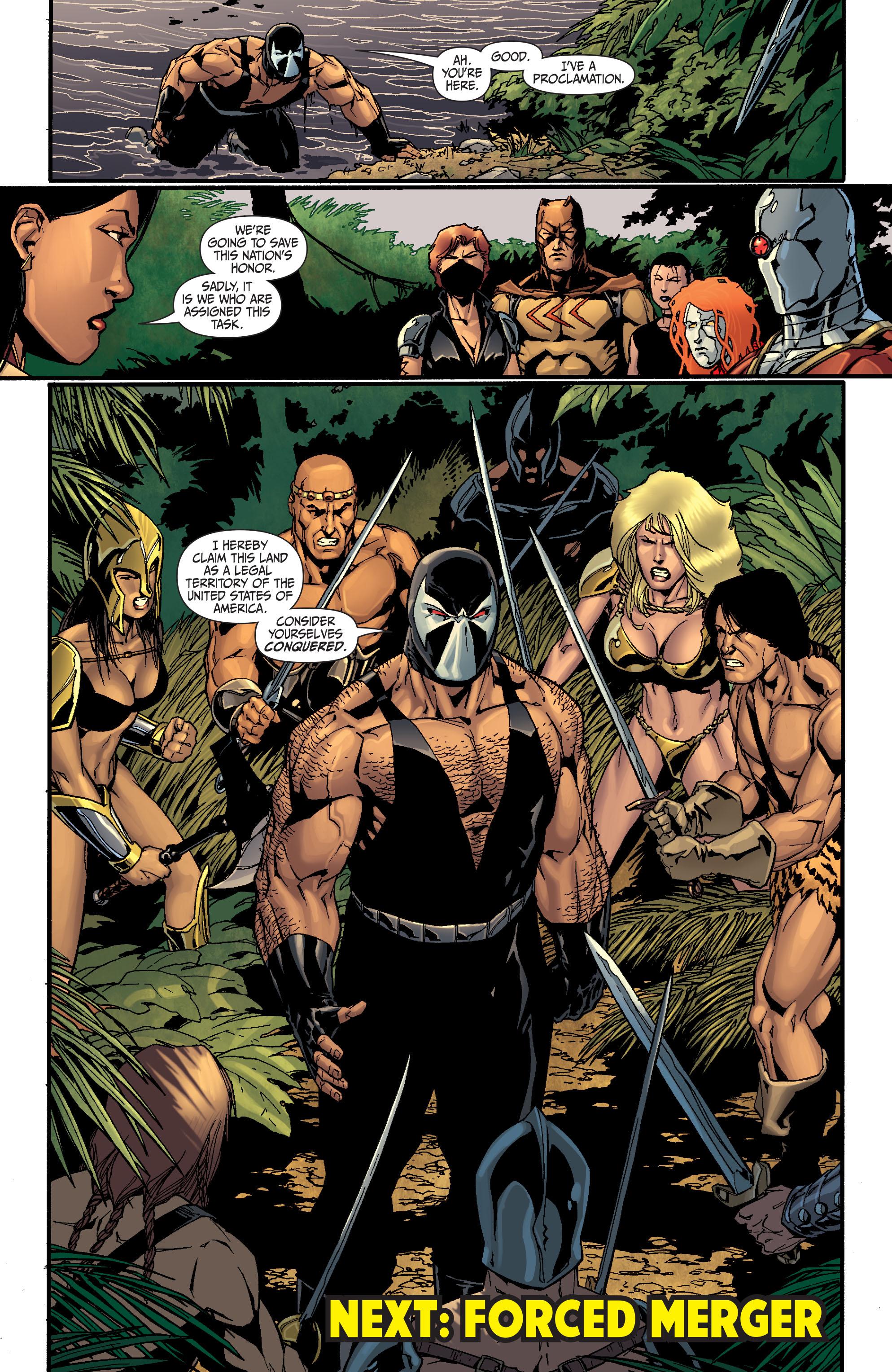 Read online Secret Six (2008) comic -  Issue #25 - 22