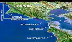 tomales bay map