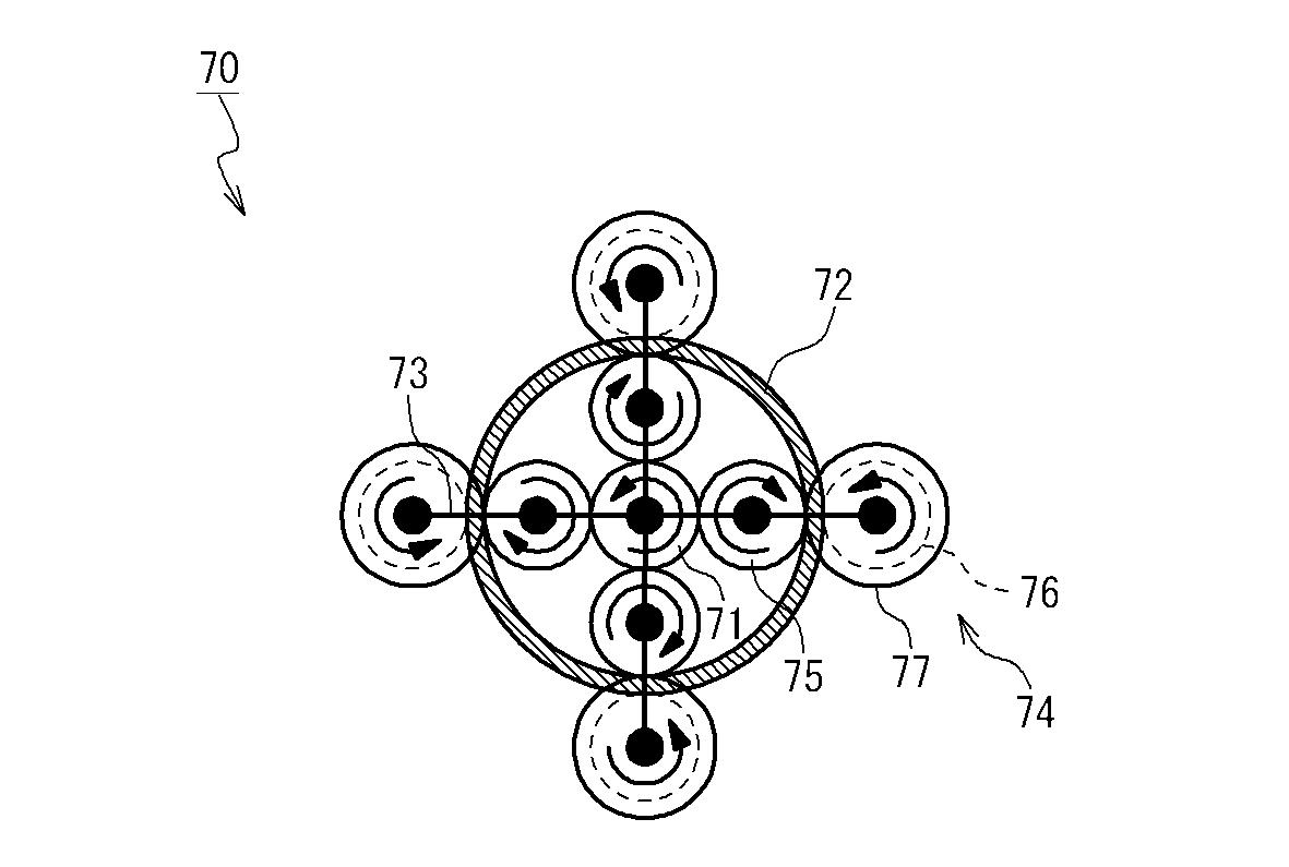 Planetary Mechanism Auto Part