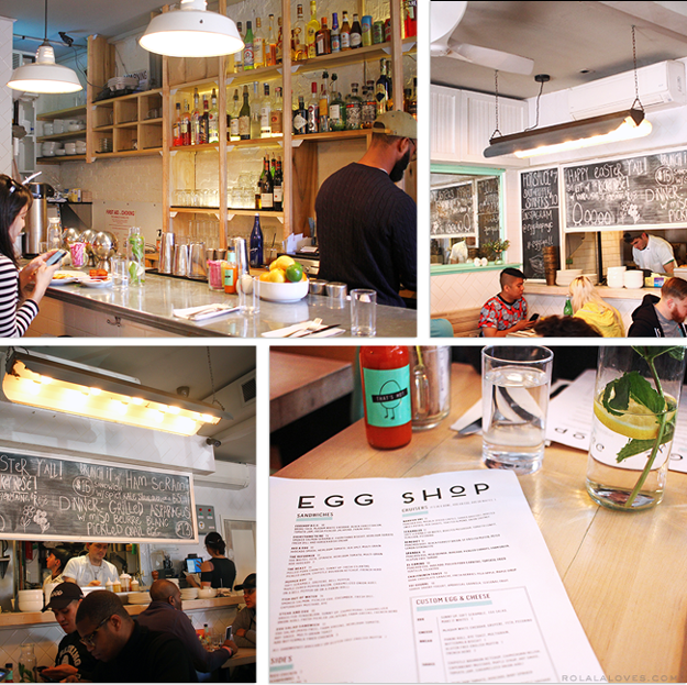 Egg Shop Review, Egg Shop New York