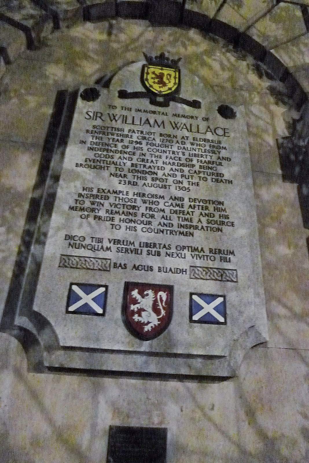 William Wallace Execution