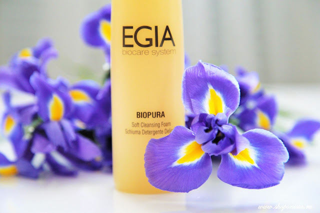 EGIA Soft Cleansing Foam.