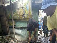 Tersumbat, Dinas PU Kota Medan Normalisasi Gorong Gorong Jalan Bilal