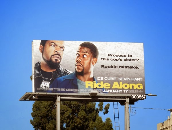 Ride Along billboard