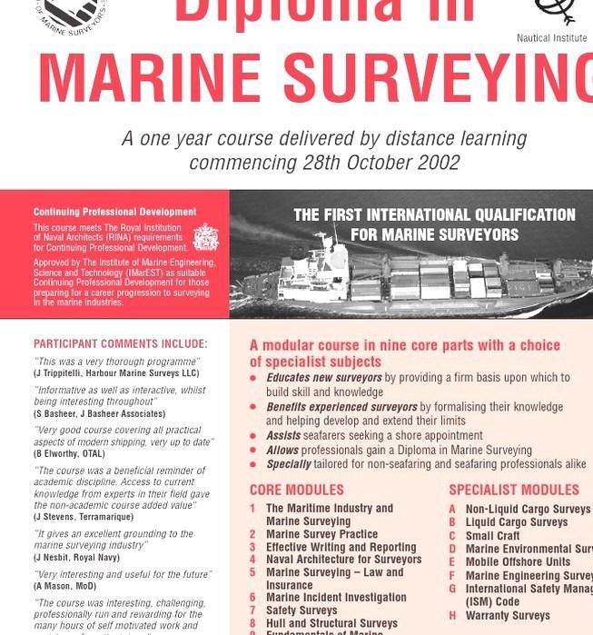 Marine Surveyor - Marine Surveyor Courses