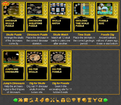 Paleontology Games
