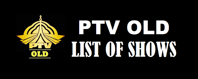 List of Shows of PTV