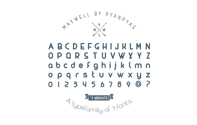 maxwell-free-font