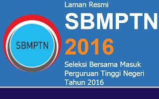 Seleksi Nasional Masuk Perguruan Tinggi Negeri (SNMPTN) Tahun 2016
