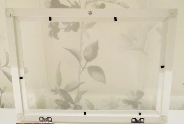 Posición de los cuatro topes transparentes