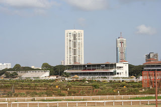 The Grandstand of Mahalaxmi Race Course Mumbai