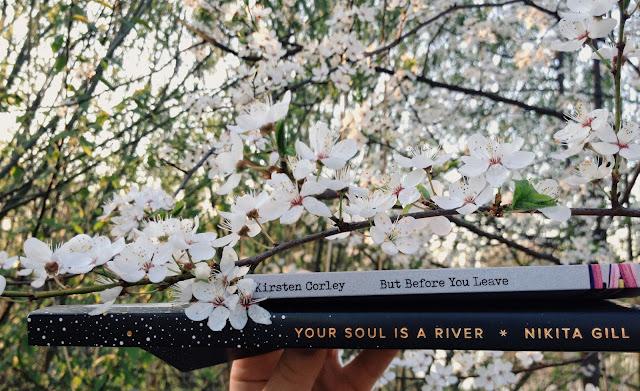 your soul is a river, bloodline i but before you leave, czyli moje kolejne podejście do poezji współczesnej
