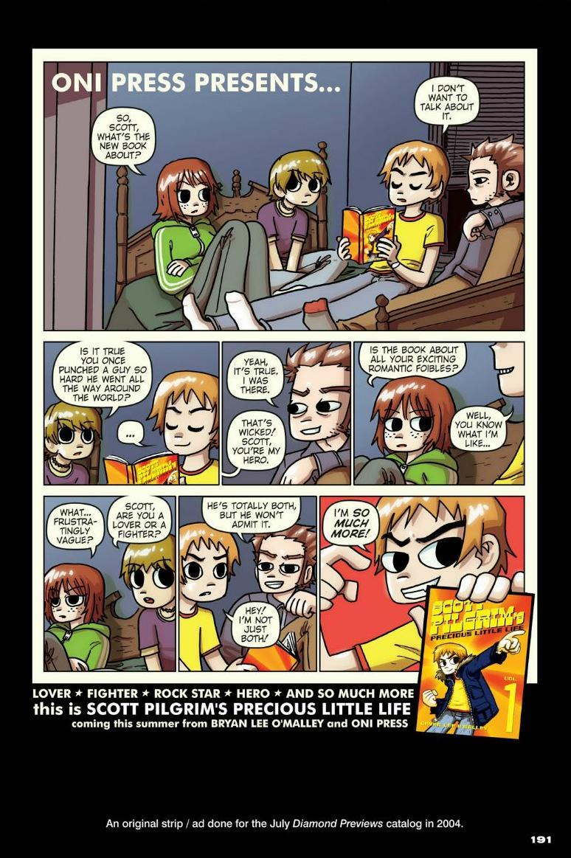 Read online Scott Pilgrim comic -  Issue #1 - 172