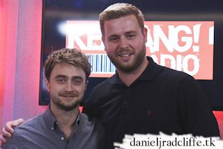 Daniel Radcliffe on Kerrang! Radio