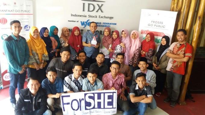"""ForSHEI berkunjung """"Pusat Informasi Go Public Semarang"""""""