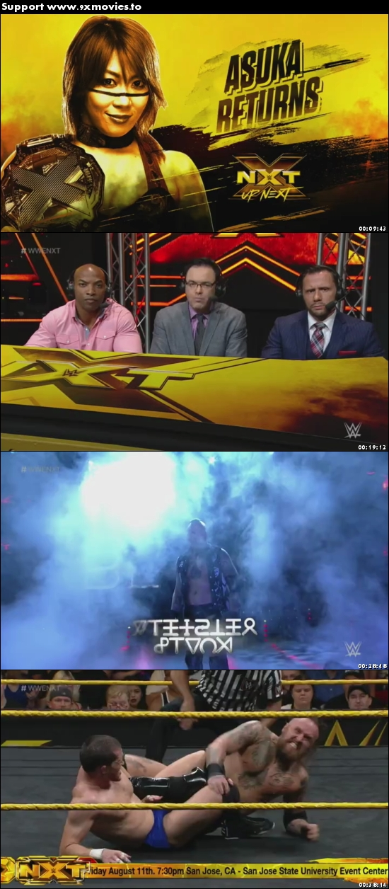 WWE NXT 02 August 2017 WEBRip 480p 180MB