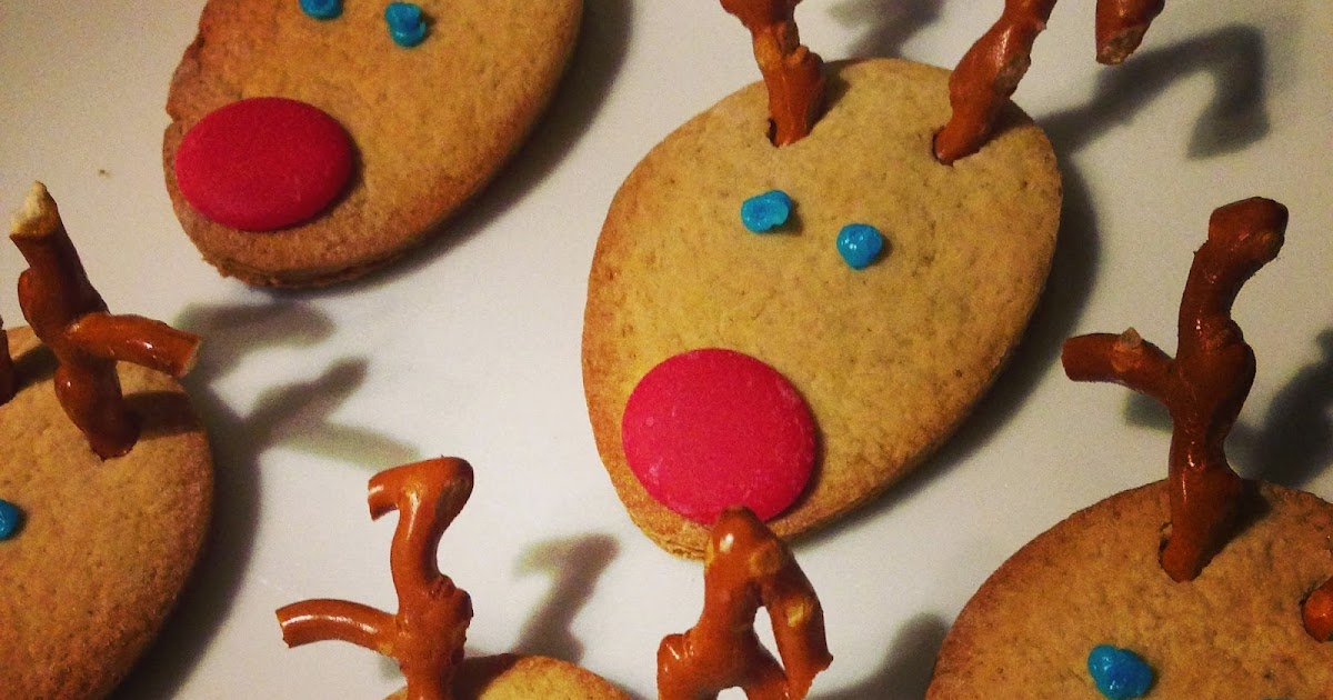 Reindeer Ginger Biscuits The Mini Mes And Me