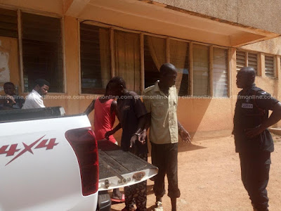 Evangelist and 4 others arrested for detaining alleged 'witches' in Ghana (Photos)