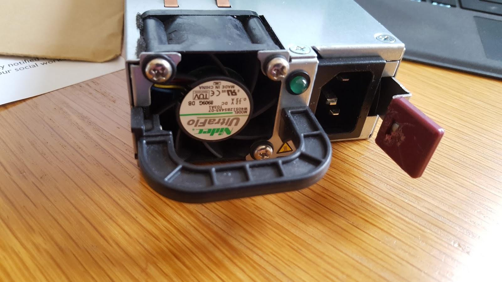 Hacking HP Common Slot Power supplies - 12V@100A | Engineering art