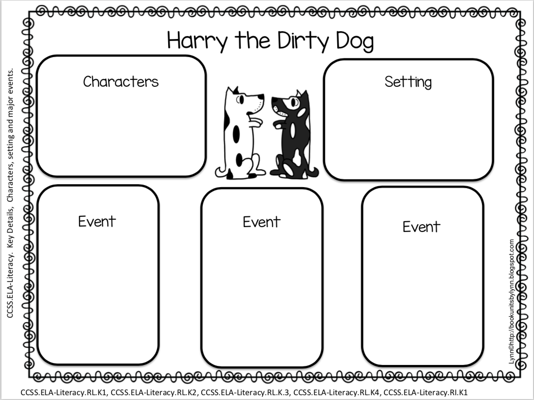 Harry The Dirty Dog Book Report Forms Book Units By Lynn