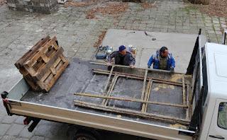 The scaffold is finally taken away as well