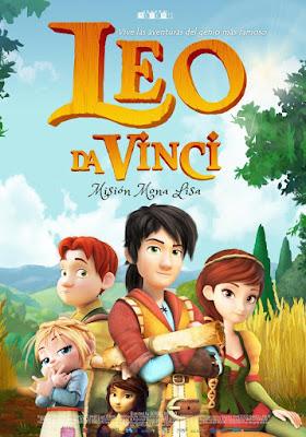 Leo Da Vinci Missione Monna Lisa 2018 DVD R2 PAL Spanish