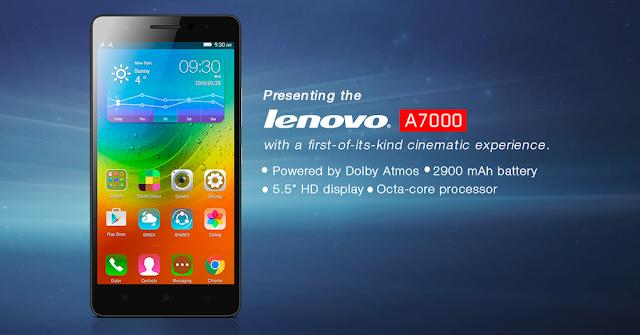 Spesifikasi Dan Harga Lenovo A7000