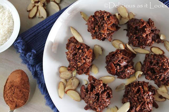Almond Joy Quinoa Crunch Clusters