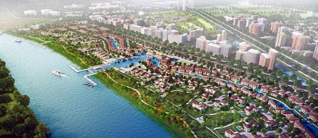 Khu đô thị Water Point Nam Long