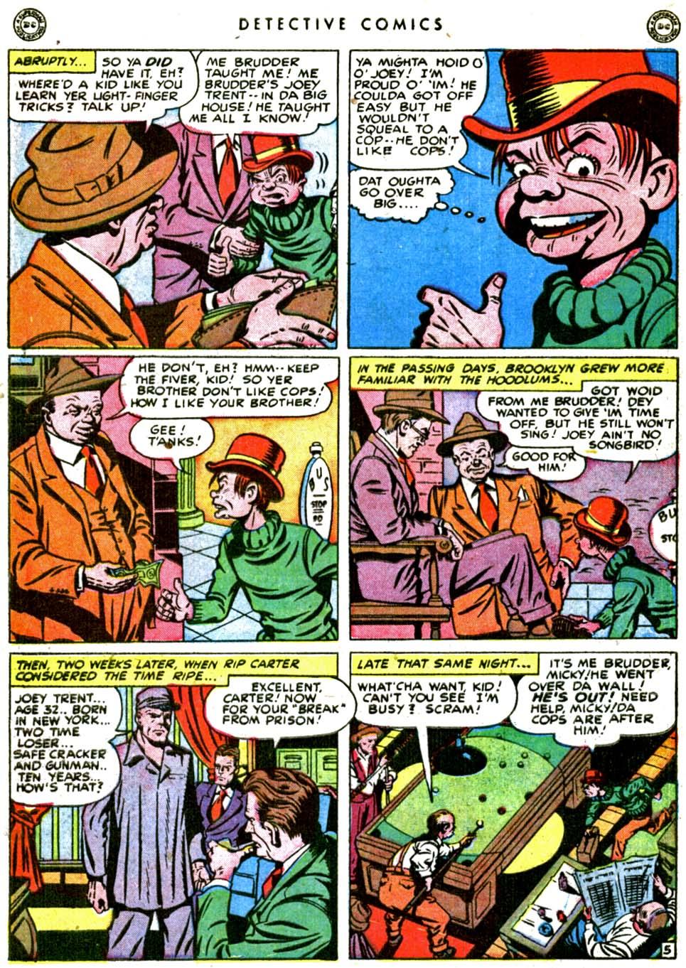 Read online Detective Comics (1937) comic -  Issue #144 - 42