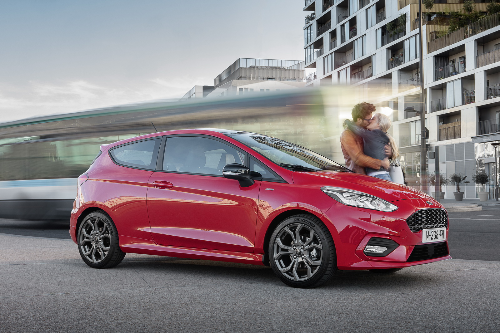 new ford fiesta arrives in europe with a few tricks up its sleeve carscoops. Black Bedroom Furniture Sets. Home Design Ideas