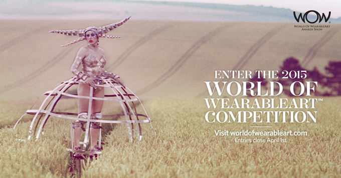 DESIGN COMPETITION // WORLD OF WEARABLEART® COMPETITION - 2015