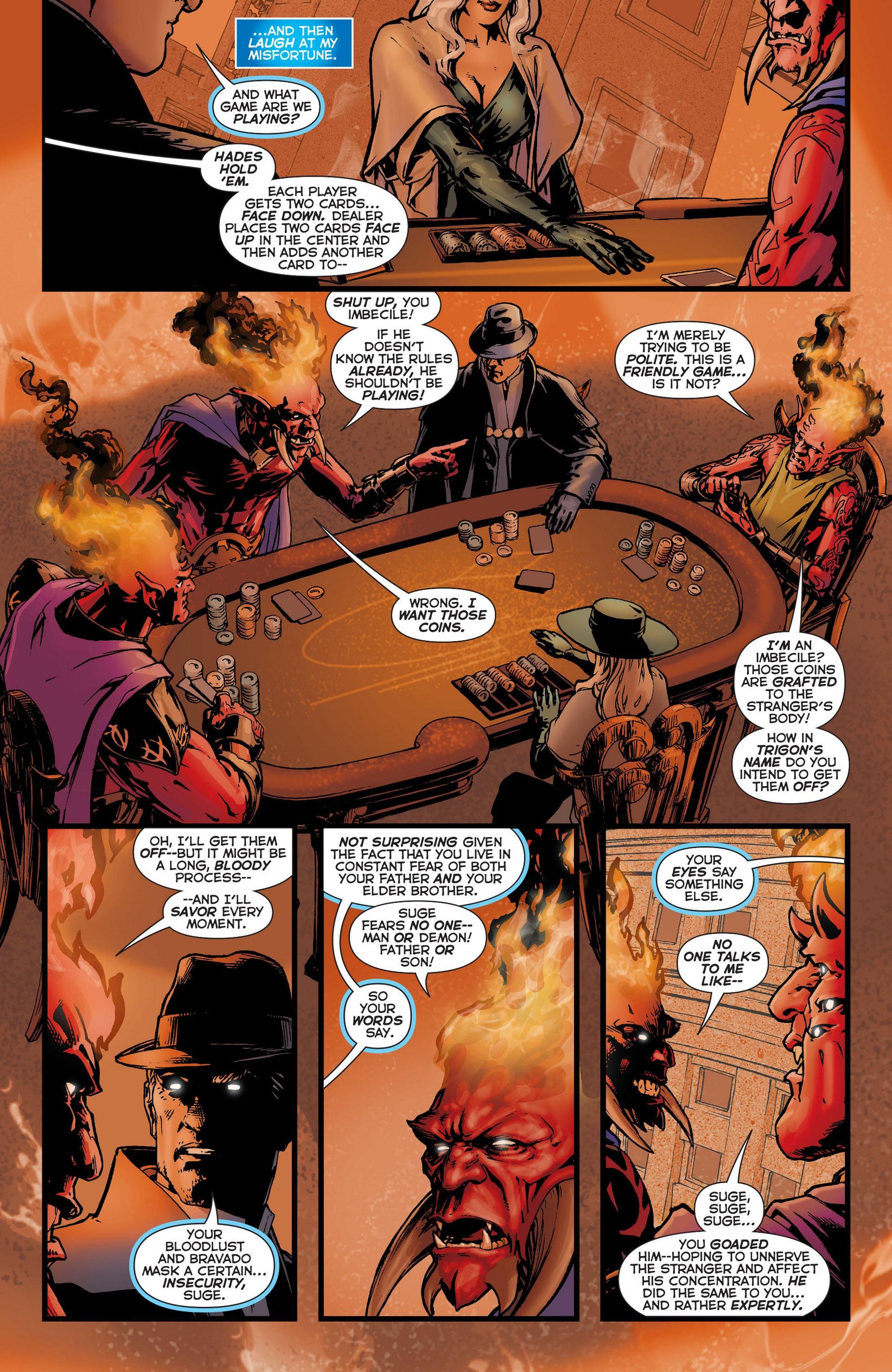 Read online Trinity of Sin: The Phantom Stranger comic -  Issue #6 - 11