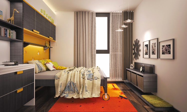 Hình ảnh căn hộ mẫu Home City Trung Kính