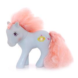 My Little Pony Dainty Dahlia Year Seven Perfume Puff Ponies G1 Pony
