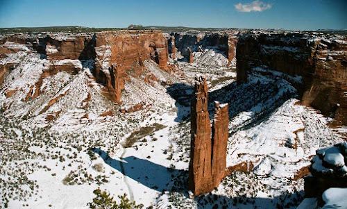 Spider Rock no inverno