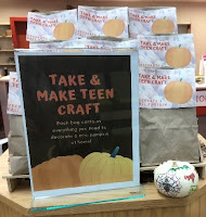 Make a teen craft pumpkin decorating kits