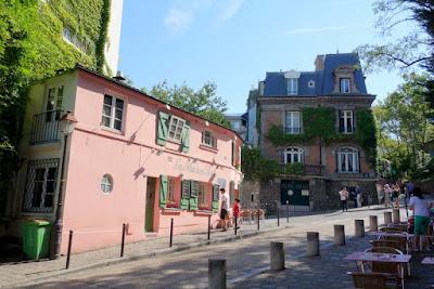 Paris la maison rose montmartre petite histoire et grands artistes 2 rue de l 39 abreuvoir - Eugenie les bains la maison rose ...