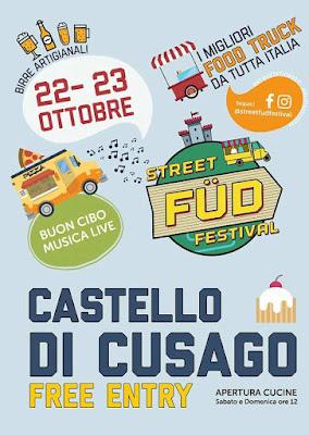 Street Fud Festival 22-23 ottobre Cusago (MI) 2016