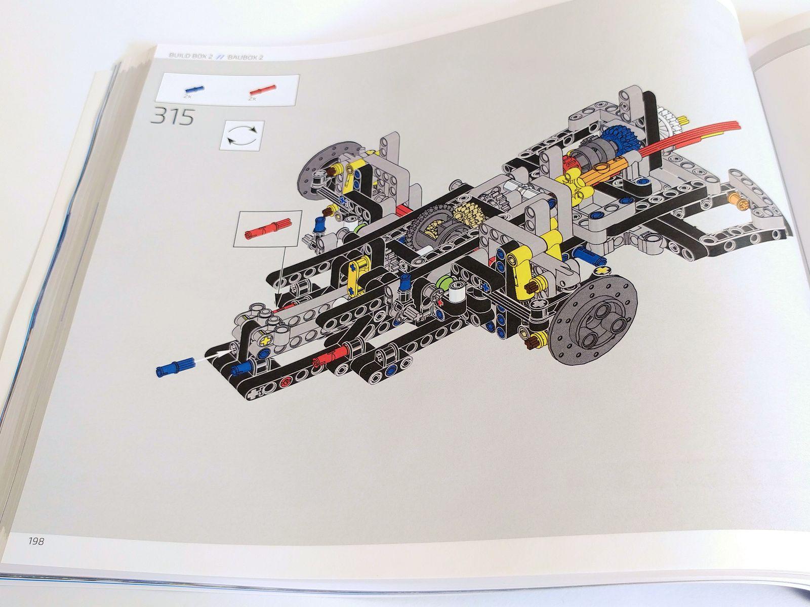 Lego Technic 42083 Bugatti Chiron The Build New Elementary A