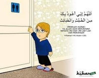 Doa Masuk Kamar Mandi