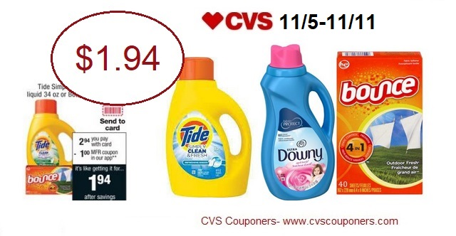http://www.cvscouponers.com/2017/11/hot-pay-194-for-tide-simply-clean-downy.html