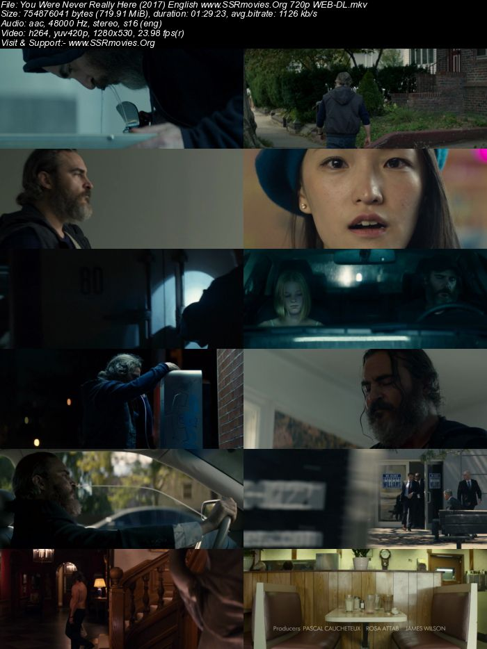 You Were Never Really Here (2017) English 720p WEB-DL