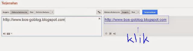 translate blog