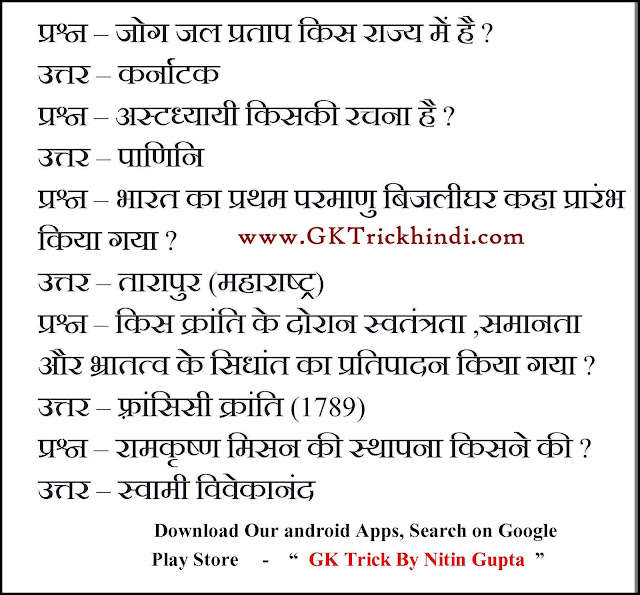gk in hindi for ssc exam