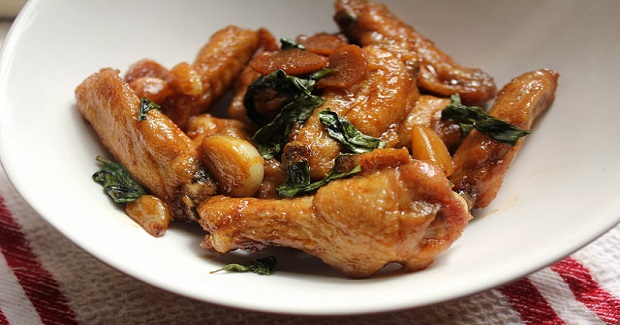 San Bei Ji Wings (Three Cup Chicken Wings) Recipe