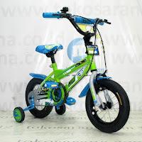 Sepeda Anak Wimcycle Hot Wheels 12 Inci Lisensi