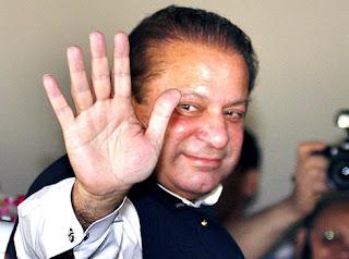 Long & Straight Fate Line On Hand Of Nawaz Sharif Palmistry